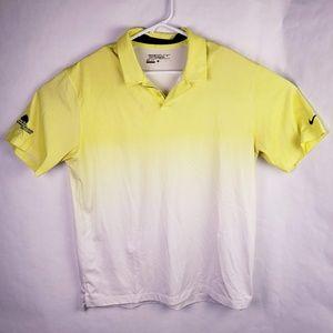 Nike Dri Fit Tour Performance Golf Shirt Sz L